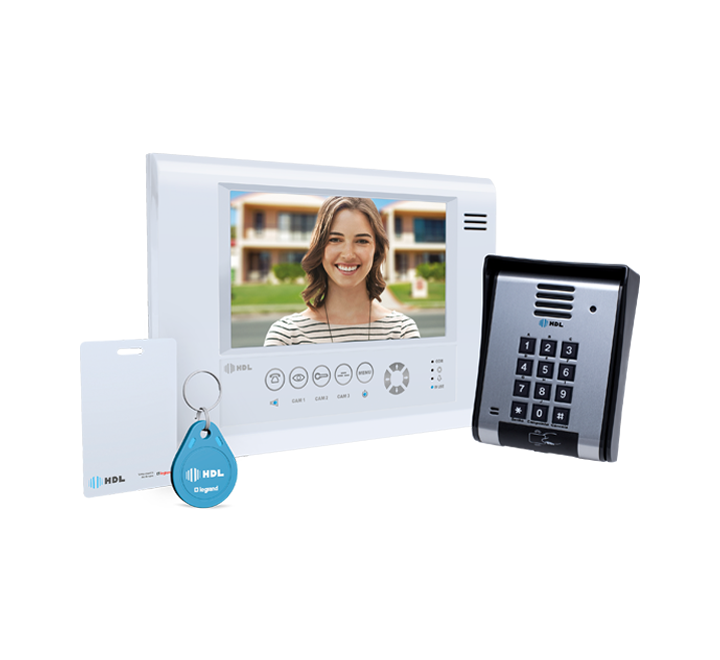 52aa56326 ... PorteiroVídeo Porteiro HDL com tela Touch screen SENSE Seven S MCA. 🔍.  Kit ...